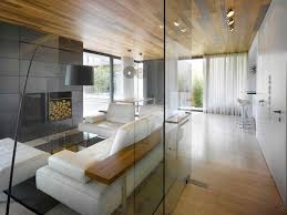 room and kitchen glass divider small living room apartment ideas