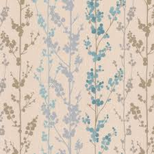 traditional wallpaper floral washable non woven berries