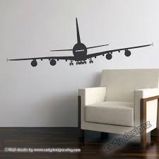 airplane wall decal aviation wall decor airplane nursery