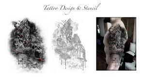 tattoo design u0026 stencil custom tattoo designs