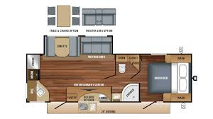 jayco white hawk 26rk travel trailer floor plan