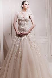 Champagne Wedding Dresses A Line Jewel Court Train Tulle Fabric Champagne Wedding Dresses