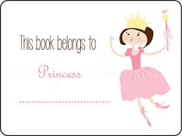 book plates dishes princess book plates this book belongs to labels set of 15