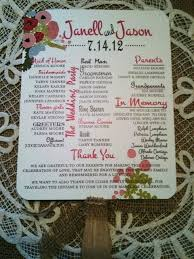 Country Wedding Programs 1000 Images About Sheppard Wedding Programs On Pinterest Rustic