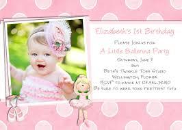 Invitation Card For Birthday Party Ballerina Birthday Invitation Photo Card Ballet Invite Printable