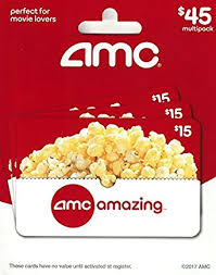 where to buy amc gift cards amc theatre gift cards multipack of 3 15 gift cards