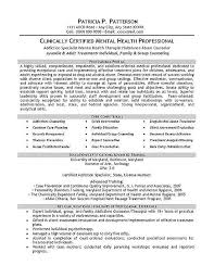 social work resume templates clinical social worker resumes