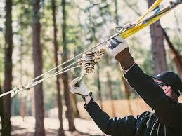 Backyard Zip Line Without Trees by Tensioning Kit U2013 Ziplinegear