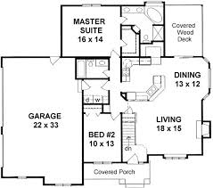 2 bedroom 2 bath house plans 2 bedroom bath house plans 24 x 44 floor plan 1