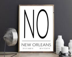 New Orleans Wall Decor New Orleans Print Etsy