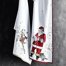 christmas towels twas the before christmas reindeer towels set of 2