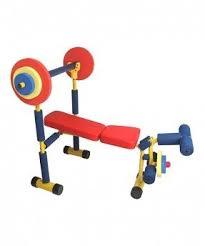 Jr Weight Bench Set Kids Gym Equipment Foter