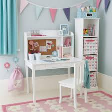 office perfect combination of girls white desk and hutch with white chair and freestanding shelving with bins comely girls white desk and hutch