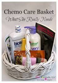cancer gift baskets chemo care basket what she really needs chemo care basket