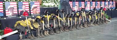 Arizona Firefighters Killed 2015 by Families Officials Walk In Final Footsteps Of The Hotshots The