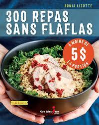 editeur livre cuisine 300 repas sans flaflas à moins de 5 la portion jean éditeur
