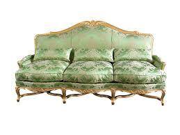 canape louis xv canapé de style louis xv en hêtre 3 places vert cresson
