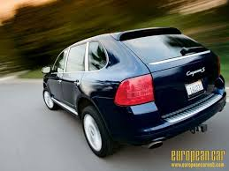 cayenne porsche reviews 2005 porsche cayenne s term test wrap up european car