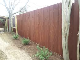 austin fence staining