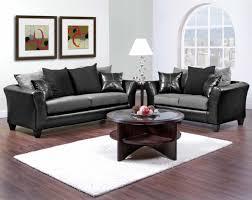Simple Black Sofa Set Black Sofa And Loveseat Set Tehranmix Decoration
