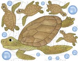 turtle wall decals sea turtle wall decals
