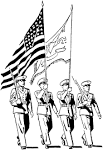 Friends Across America - FREE Printable Coloring Pages - U.S. Military friendsacrossamerica.com