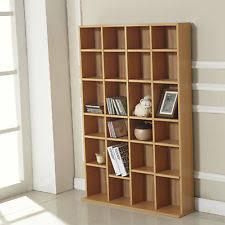 wooden cd rack bookcases shelving u0026 storage ebay