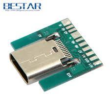 post it bureau pc click to buy diy 24pin usb c usb 3 1 type c socket