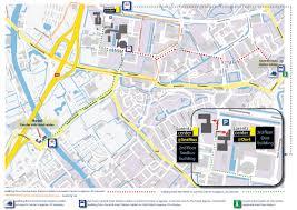 5 Train Map Lorentz Center From Train Station And Hotel To Lorentz Center