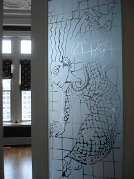 custom etched glass doors entryways carved designs memphis