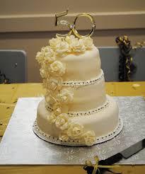 wedding cake anniversary 50th anniversary cake cakecentral
