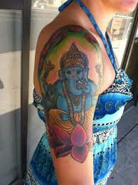 ganesha tattoo on shoulder 91 marvelous ganesha tattoos for arm