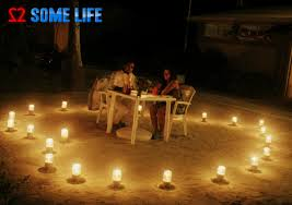 Candle Light Dinner Maldives Diaries A Surprise Beach Side Candle Light Dinner Two
