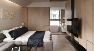 modern bedroom designs for apartments purple mattress beige carpet