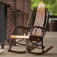 Rocking Chair Conversion Kit Pennsylvania Amish Rocker Indoor Furniture Lehman U0027s