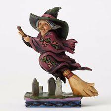 Flying Witch Decoration Halloween Witch Figurine Ebay