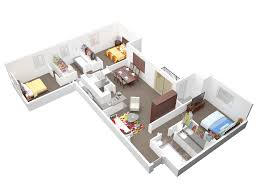 cool apartment floor plans bedroom 3 bedroom luxury apartments delightful on throughout hotel