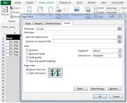 printing a filtered list in microsoft excel 2010 microsoft excel