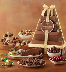 deluxe tower of chocolates gift chocolate gifts delivered
