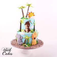 jungle theme cake unik cakes wedding speciality cakes pastry shop
