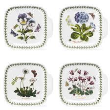 portmeirion botanic garden canape dishes set of 4 portmeirion uk