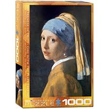 vermeer earring eurographics girl with a pearl earring by vermeer 1000