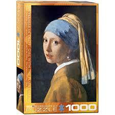 vermeer pearl earrings eurographics girl with a pearl earring by vermeer 1000