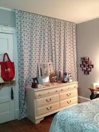Covering A Wall With Curtains Ideas Floorlength Curtain To Cover An Wall I Didn T Use Any Nails