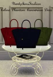 my sims 4 ts3 phantom accessory and decorative bag