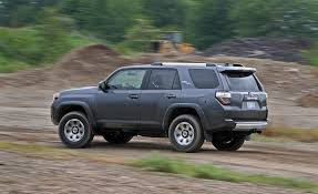toyota 4runner 2017 black 2017 toyota 4runner in depth model review car and driver