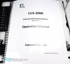 carewell cus 2000 portable ultrasound set complete chd medical