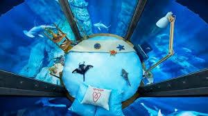 chambre aquarium l aquarium de loue une chambre dans le bassin des requins