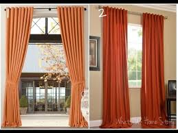 Burnt Orange Curtains Burnt Orange Curtains Decorating With Burnt Orange Curtains