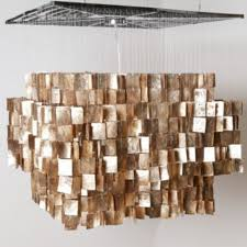 home ceiling lighting design chandeliers design awesome captivating capiz chandelier for home